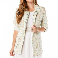 Blooming Cargo Jacket - ShopSosie.com