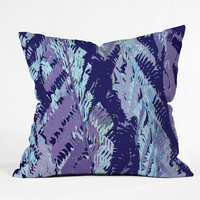 DENY Designs Home Accessories | Rosie Brown Amethyst Ferns Throw Pillow