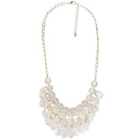 Payless, Women's Faceted Bead Bib Necklace, Women's