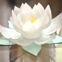 Lotus Blossom Soap Wedding Favor, Bridal Shower Favor, Decorative Soap