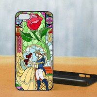 Beauty and the beast dance, iPhone 5 Black Case Cover
