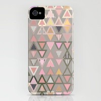 Soft Pink triangular iPhone Case by Gabriel Ramos | Society6