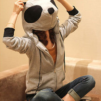 Panda Head Jacket [406] - $45.00 - To February â?¥ Specialized in Asian Fashion, Jewelry, and Accessories from Korea, Japan, Hong Kong, Taiwan, and China