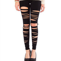 Ripped Leggings | 2020AVE