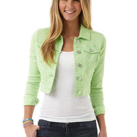 Neon Denim Jacket