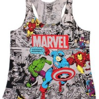 Amazon.com: Marvel The Avengers Girls Tank Top: Clothing