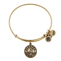 Alex and Ani University Of Alabama® Logo Charm Bangle - Russian Gold