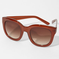 Rust Jesse Sunglasses