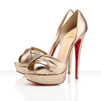 Christian Louboutin Volpi 150mm Alba Shoes - &amp;#36;168.00