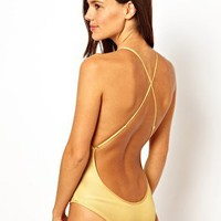Mileti Swimsuit With Low Cut Back