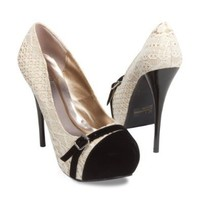 Women's Neutral-330 Platform High Heel Stiletto Pump