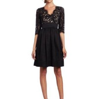 Eliza J Women&#x27;s Lace Scallop Dress