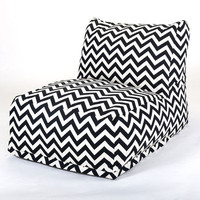 Majestic Home Products Zig Zag Bean Bag Chair Lounger