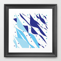 Wind & Sails Framed Art Print by Rosie Brown