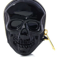 Dark Dimensions Skull Coin Purse - PLASTICLAND