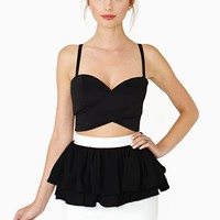 Inside Your Heart Peplum Skirt