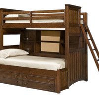 Jefferson Twin over Full Bunk Bed