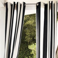 Sunbrella® Indoor/Outdoor Grommet Drape