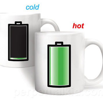 HEAT SENSITIVE BATTERY MUG