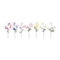 SMYCKA Artificial flower, Sweet pea assorted colors - IKEA
