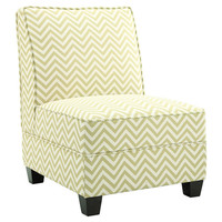 Ryder Slipper Chair in Citron