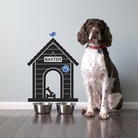 Dog House Vinyl Wall Decal Sticker Size Small by graphicspaces