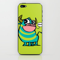 MooGrin iPhone & iPod Skin by Mirabilis