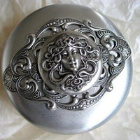 Time Travelers Silver Case filled with Tuberose Wax by steamheat