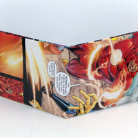 Comic Book Wallet// Flash (Barry Allen)