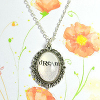 """Dream"" cameo necklace - Bows Jewellery"
