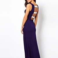 ASOS Bow Back Maxi Beach Dress at asos.com