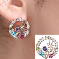Fairy Tells Crystal Fashion Earrings | LilyFair Jewelry