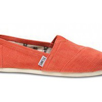 Earthwise Orange Women's Vegan Classics | TOMS.com