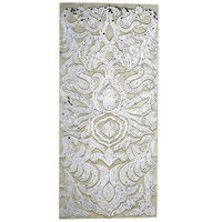 Mirrored Damask Panel