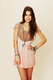 Free People Embellished Palms Tunic at Free People Clothing Boutique