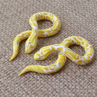 Yellow Python Gauges