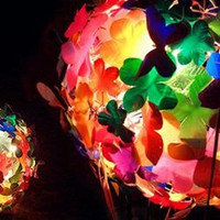 Heath Nash Recycles Trash Into Beautiful Things Like This Flower Lamp Shade - #1574 - NOTCOT.ORG