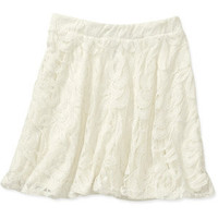 Walmart: G21 Juniors Lace Skater Skirt