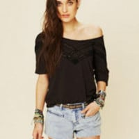 Free People Sweet V Tee at Free People Clothing Boutique
