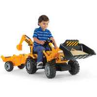 The Ride On Double Digger - Hammacher Schlemmer