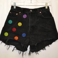 Dripping Smilies Shorts