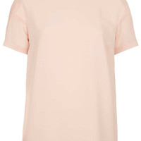 Sheer Panel Seam Tee - New In This Week - New In - Topshop USA