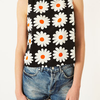 Daisy Print Shell Top - New In - Topshop