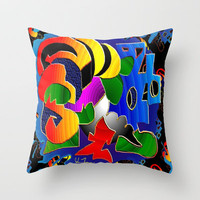 Mirage Throw Pillow by JT Digital Art