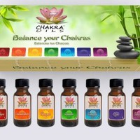 Amazon.com: Chakra Essential Oils Kit (Herbal) Set of 7 Oil Bottles: Home & Kitchen