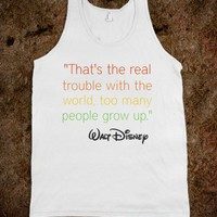 Walt Disney Tank - AV's Boutique - Skreened T-shirts, Organic Shirts, Hoodies, Kids Tees, Baby One-Pieces and Tote Bags