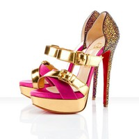Christian Louboutin Ambertina 150mm Evening Shoes - &amp;#36;153.00