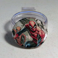 "Comic Book 1.5"" Button// Spider-Man"