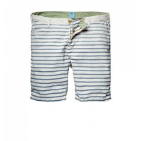 Summer striped beach shorts