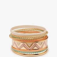 Zigzag Bangle Set | FOREVER21 - 1051466525